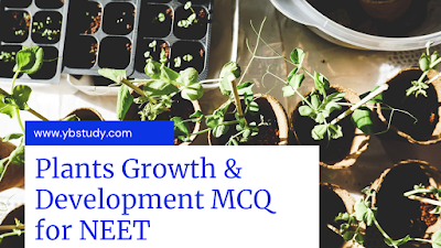 Plant growth and development mcq