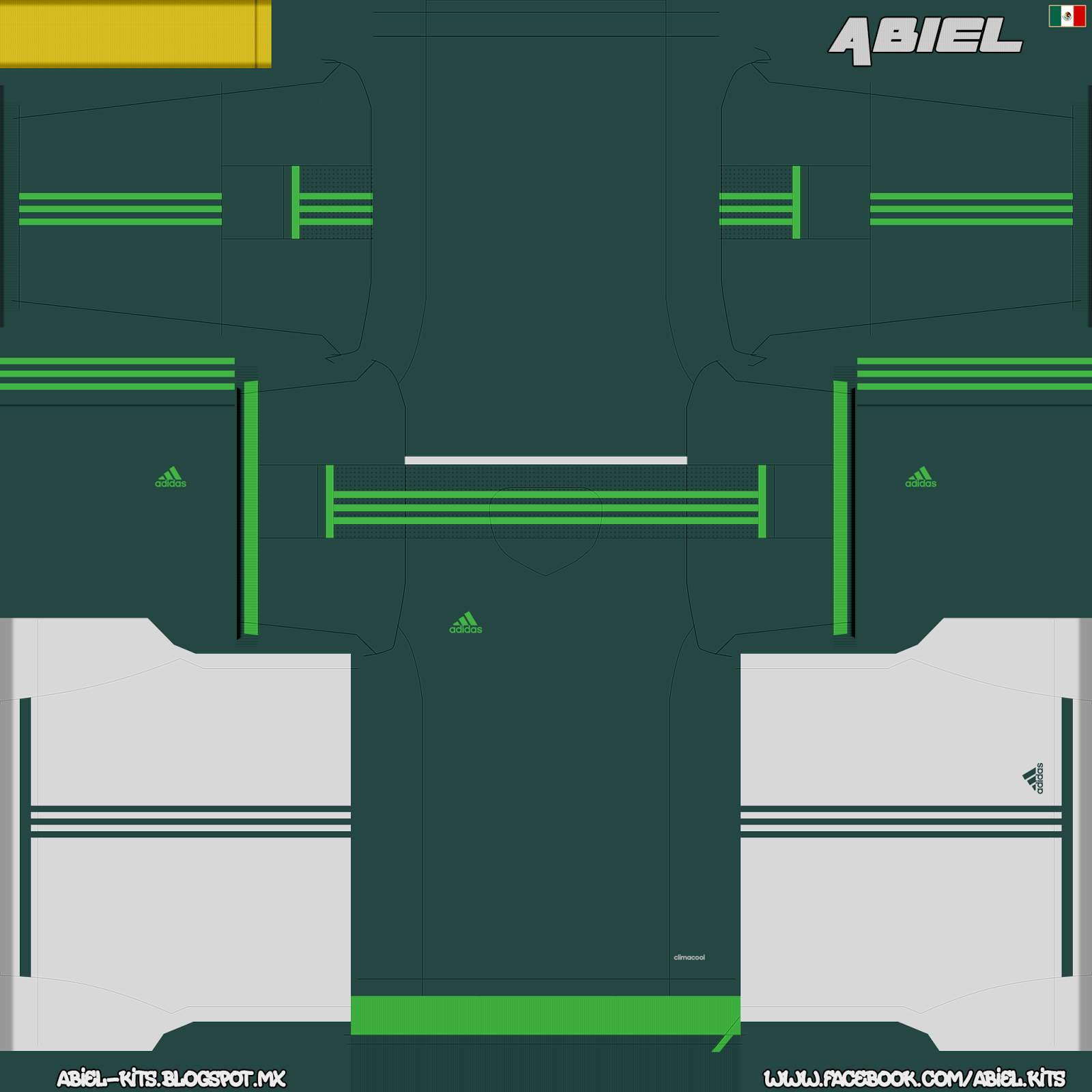 Template Adidas World Cup 2014 V.1