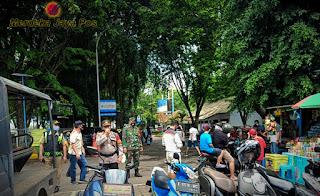 Piket Koramil Gabungan TNI Polri Satpol PP Dalam Penegakan Prokes