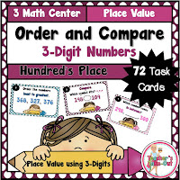 Order and Compare 3 Digit Numbers