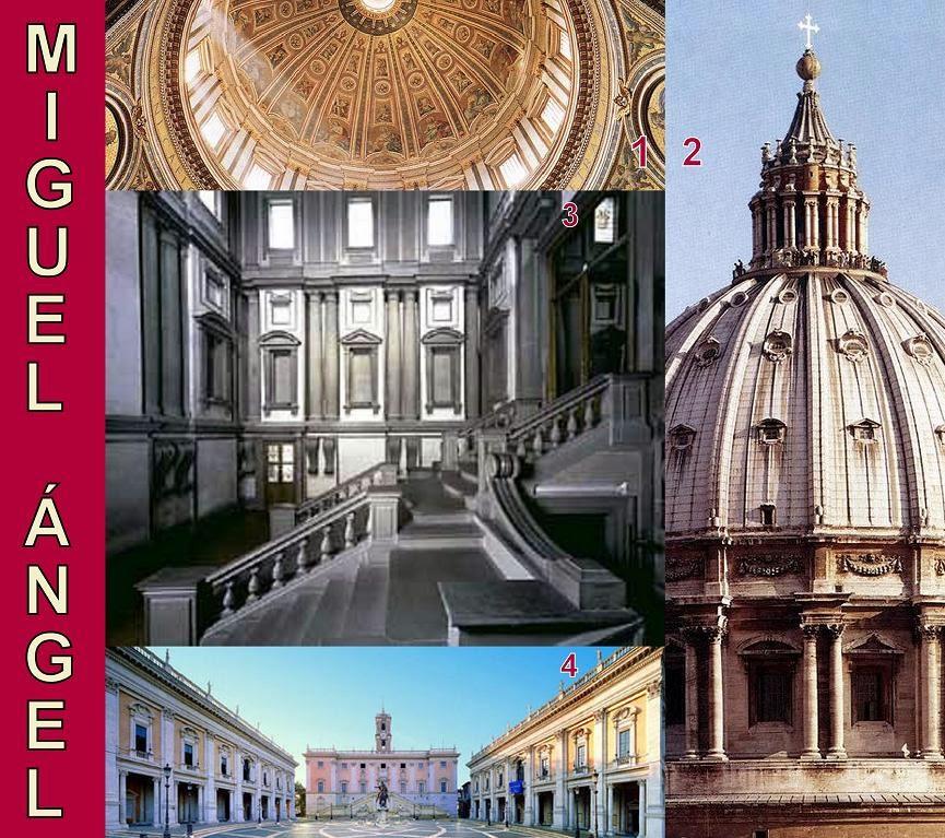 Algargos arte e historia arquitectura manierista - Arquitectura miguel angel ...