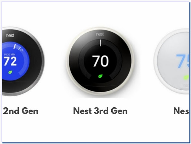 nest learning thermostat 3rd generation vs 4th generation
