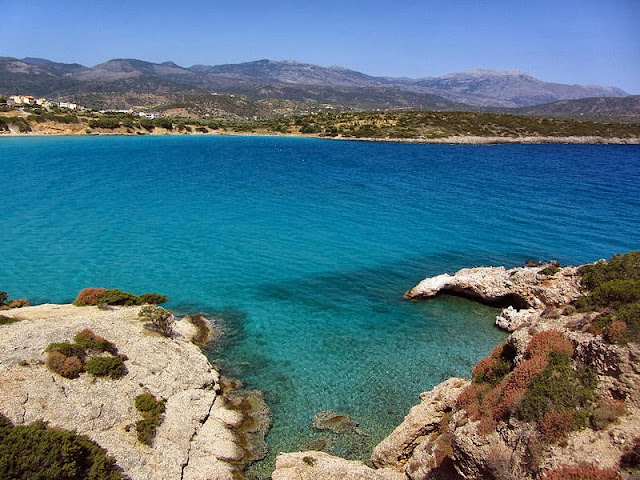 Voulisma Beach in the village of Istrol. Photo: WikiMedia.org.