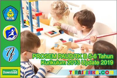 PROSEM PAUD TK B (5-6 Tahun) K13 Semester 1 dan 2