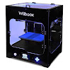 Wiiboox CCP0000011 ONE MINI Desktop 3D Printer, Single Extruder, 100 microns