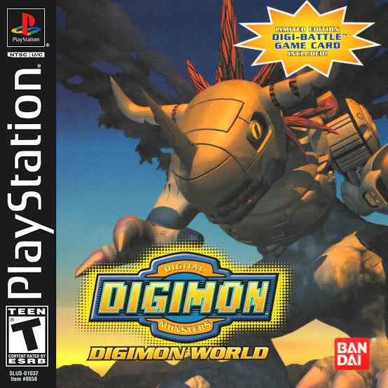 Digimon World (PSX/PS1) ISO Download High Compress | Seinfo11