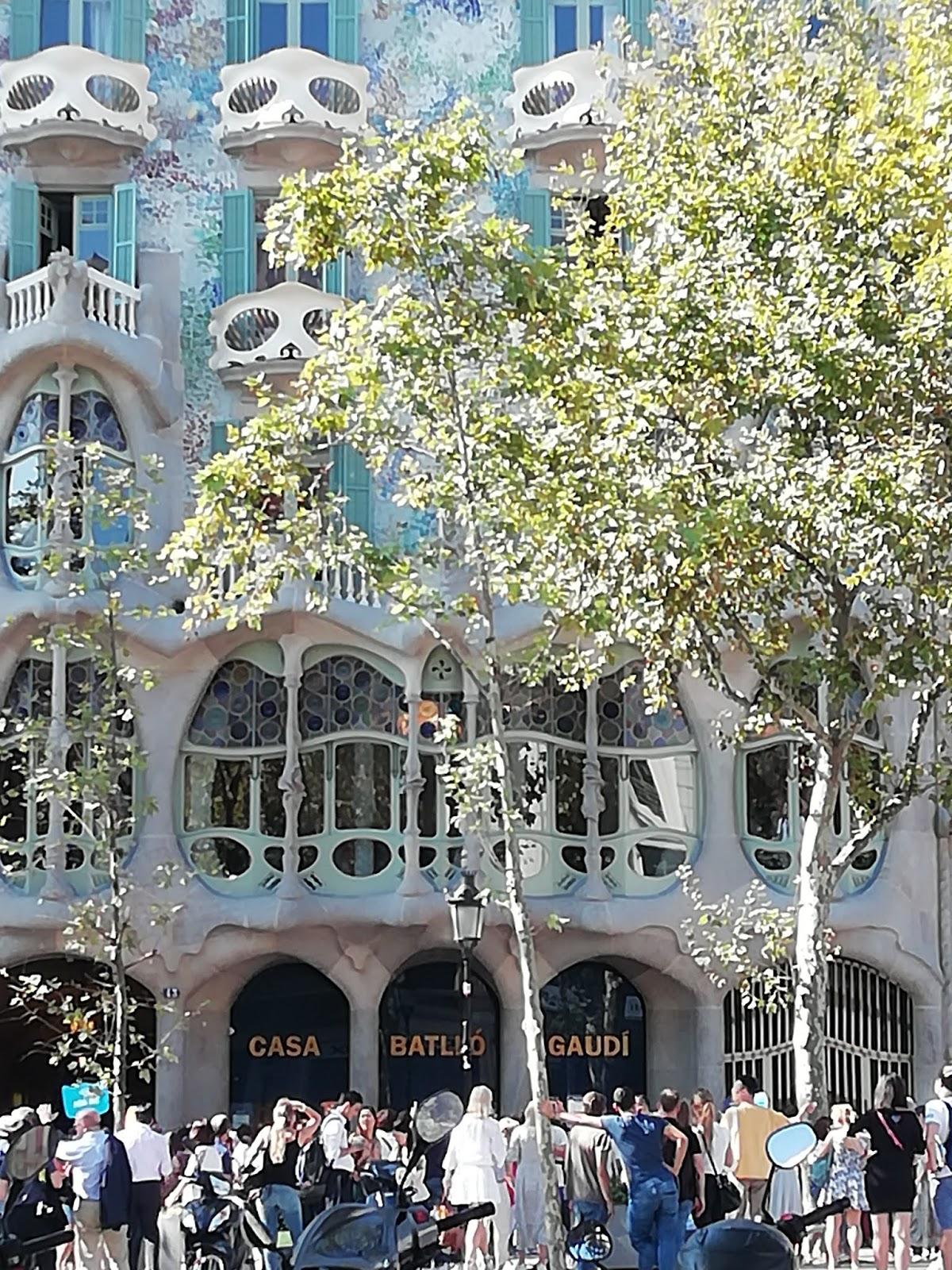 barcelona casa batlo Gaudi