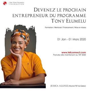 La Fondation Tony Elumelu annonce des changements dans son programme vedette