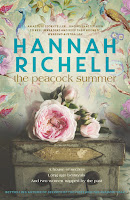 The Peacock Summer by Australian author Hannah Richell book cover