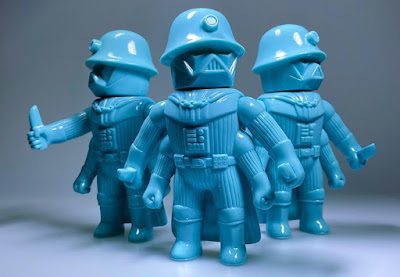 Bellum Unpainted Blue Edition Soft Vinyl Figure by Healeymade
