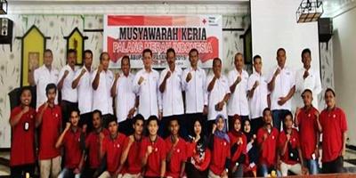 Wakil Bupati Pasaman Buka Musyawarah Kerja PMI Per 2019/2020