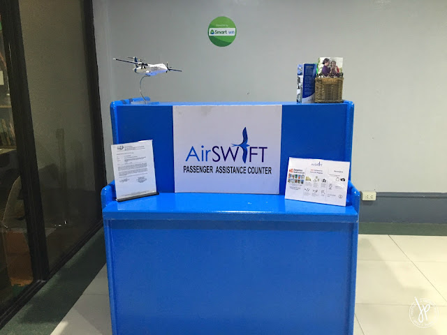 AirSWIFT Passenger Assistance Counter