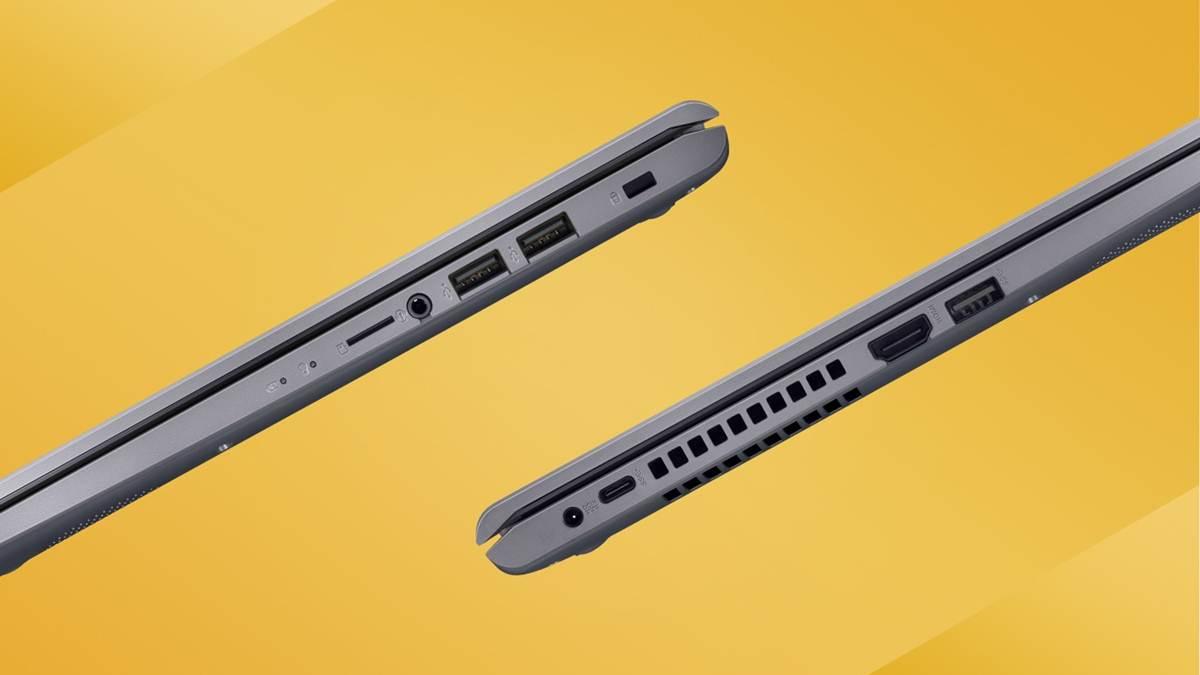 port konektivitas ASUS VivoBook 15 A516
