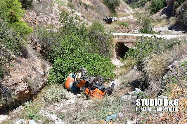 Ανακοίνωση της αστυνομίας για τη θανάσιμη ανατροπή του τρακτέρ στην Επίδαυρο