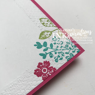 By Angie McKenzie for the Crafty Collaborations Crafty Challenge Blog Hop; Click READ or VISIT to go to my blog for details! Featuring the Lovely You Cling Stamp Set and the Tasteful Textile 3D Embossing Folder along with the Layering Circles Dies and the Stitiched Rectangles Dies from the 2021-2022 Annual Catalog by Stampin' Up!; #colorchallenge #brightscolorcollection #lovelyyou #layeringcircles #stitchedrectangles #bakerstwine #cheeryouupcards #simplecards #createyourownbackgrounds #cardtechniques #craftychallengebloghop #stampinup #naturesinkspirations #makingotherssmileonecreationatatime