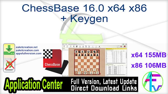 ChessBase 16.0 x64 x86 + Keygen