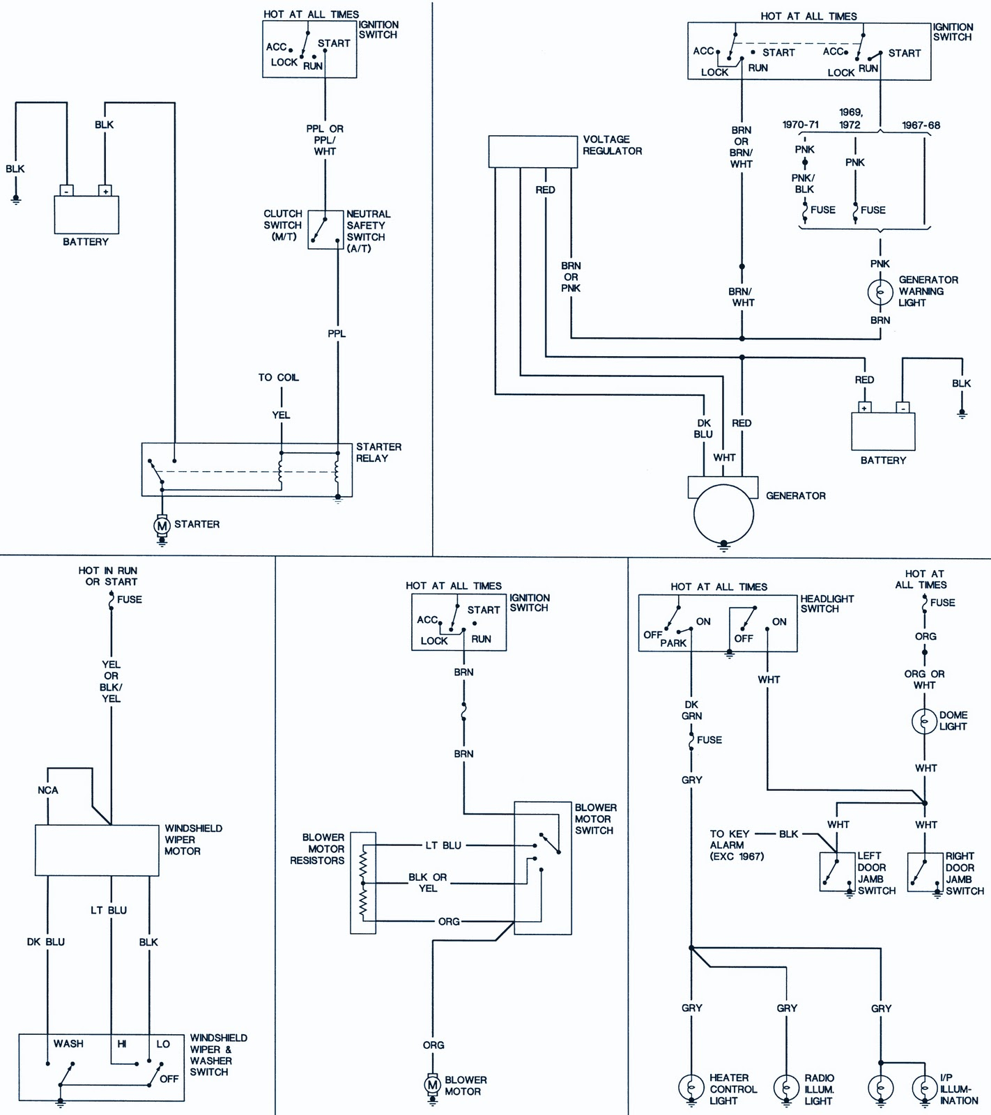 196769 Chevrolet Camaro Wiring Diagrams | Schematic Wiring Diagrams Solutions