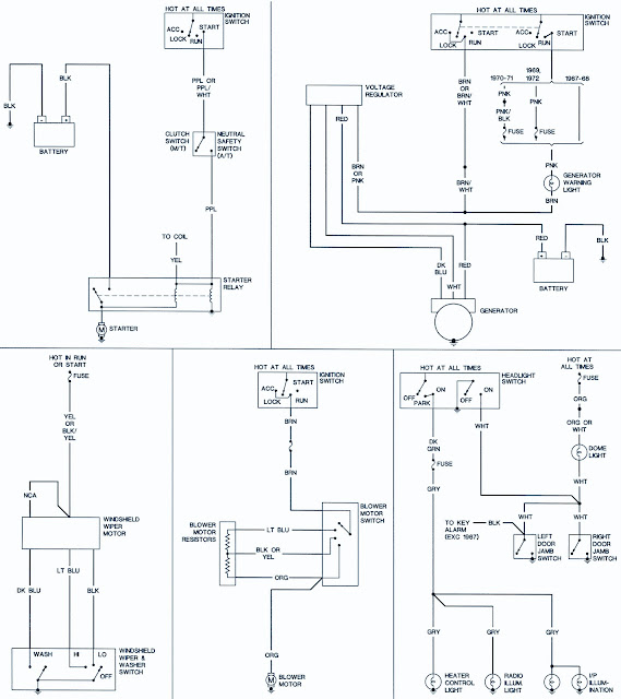 69 chevy ignition wiring 1967-69 chevrolet camaro wiring diagrams | schematic ... 69 vw ignition wiring diagram #3
