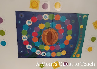 Toddler Fun on Board Game Night