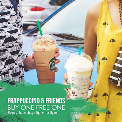Starbucks Summer Frappuccino Buy 1 Free 1 Promo