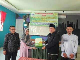 Kembangkan Sistem Pendidikan Alquran, MTS DU PUI Majalengka Teken MOU Dengan Ummi Foundation Surabaya