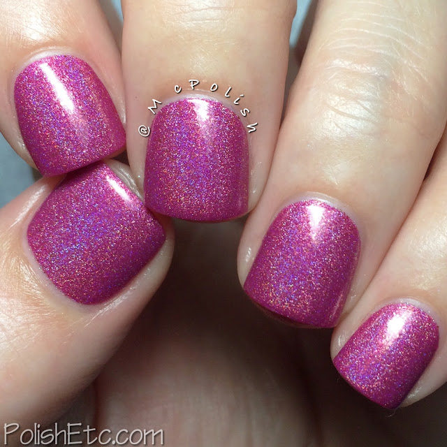 Glam Polish - Think Pink Trio - McPolish - Heart Breaker