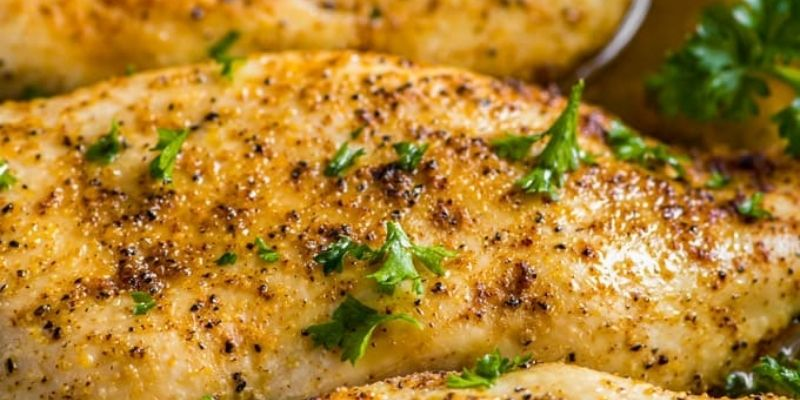 Simple Oven Baked Chicken Breaste