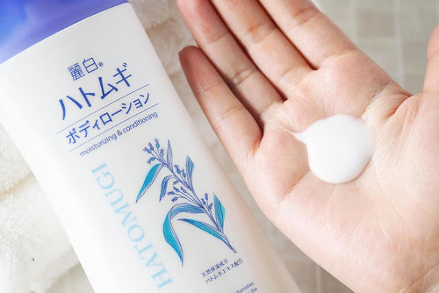 Body Lotion Hatomugi