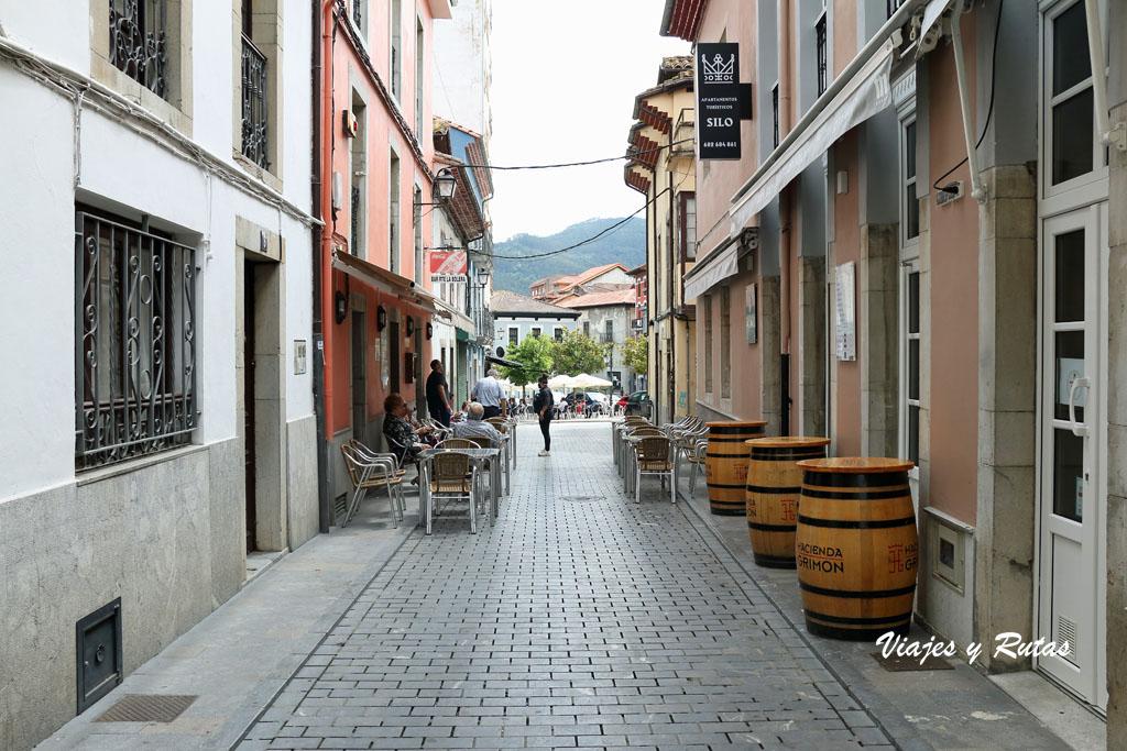 Calle Jovellanos de Pravia