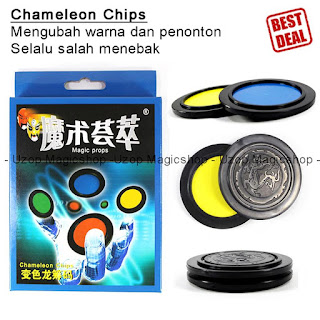 Jual alat sulap Chemeleon Chips