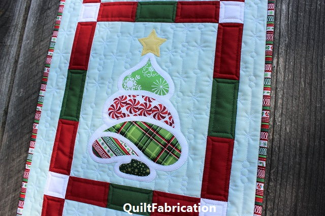 Christmas Trees by QuiltFabrication