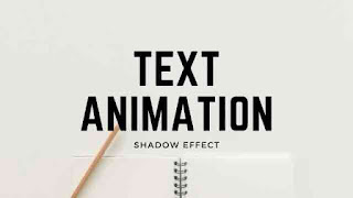 CSS3 Text Animation with Shadow Effect