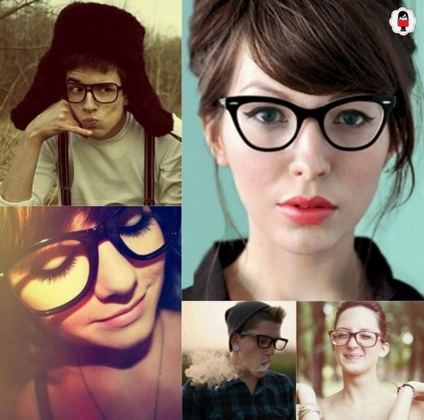 cb25df1a335ba Ai fica uma dica para as meninas que precisam usar óculos mas acham feios