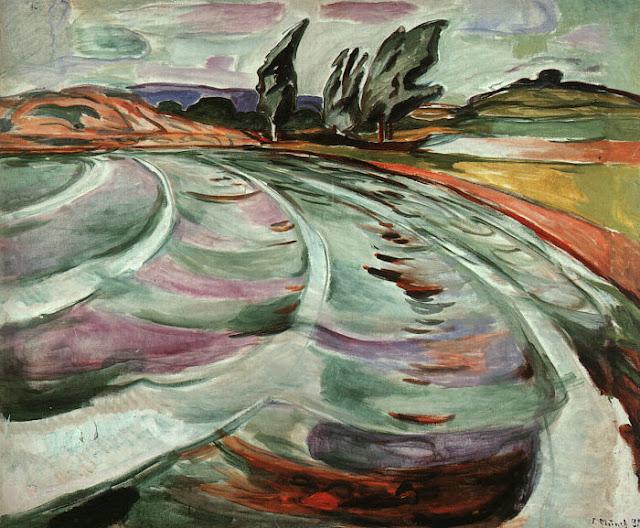 Эдвард Мунк - Волна. 1921
