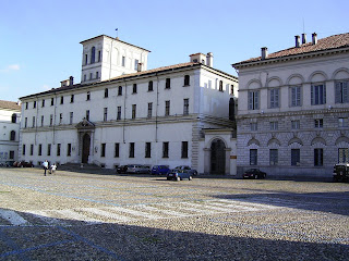 The Ghislieri College at the University of Pavia, where Vittorio Erspamer graduated and worked for several years