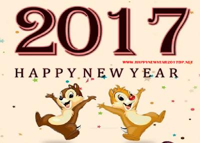 2017 Happy New Year Whatsapp DP