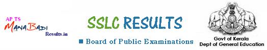 Kerala SSLC 10th Class Results