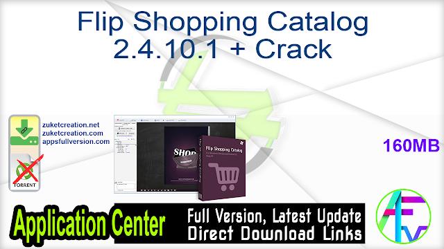 Flip Shopping Catalog 2.4.10.1 + Crack