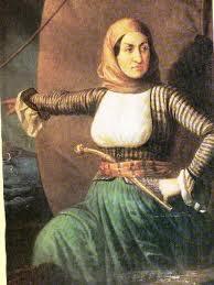 d66e2e60aaf Η Καπετάνισσα Μπουμπουλίνα ξέφευγε από τα γυναικεία πρότυπα της εποχής της.  Μεγαλωμένη στη θάλασσα, από νωρίς εκδήλωσε την αγάπη της για τα πλοία και  τα ...