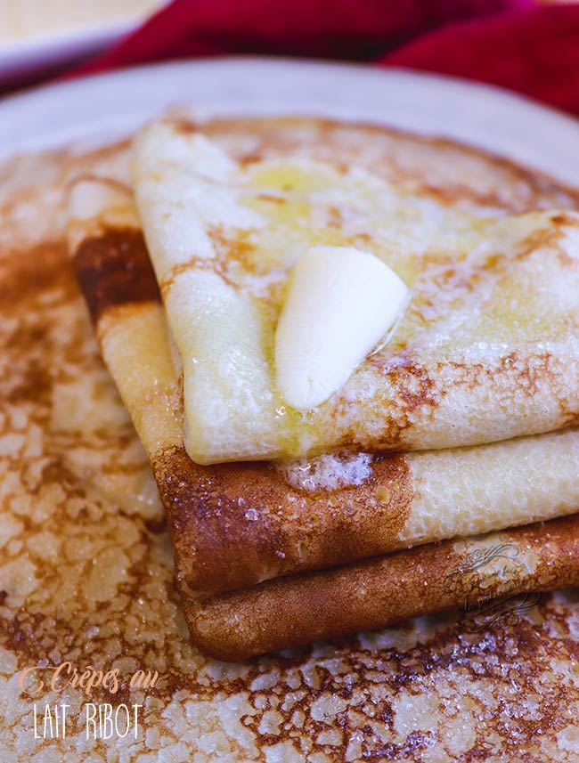 crepes lait ribot