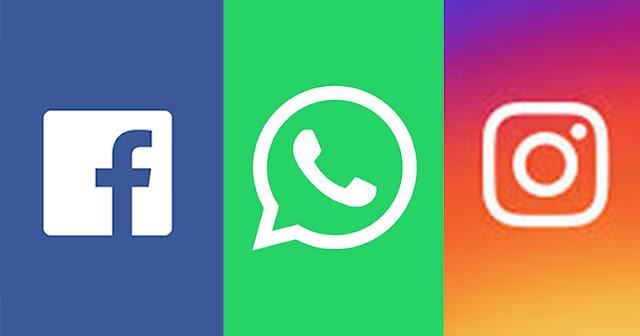 Facebook, Instagram और WhatsApp हुआ डाउन, यूजर्स को हो रही परेशानी