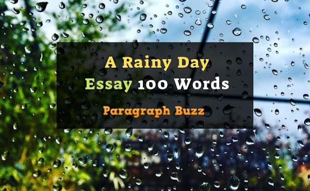 Essay on a Rainy Day 150 Words
