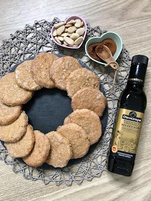 GALLETAS DE CALABAZA Y ALMENDRA ¡Crujientes y Deliciosas! Receta Fácil