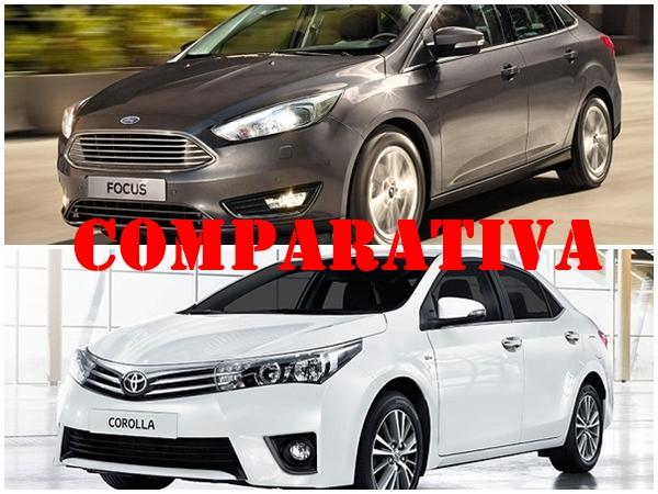 Comparativa Ford Focus 3 Sedán vs Toyota Corolla