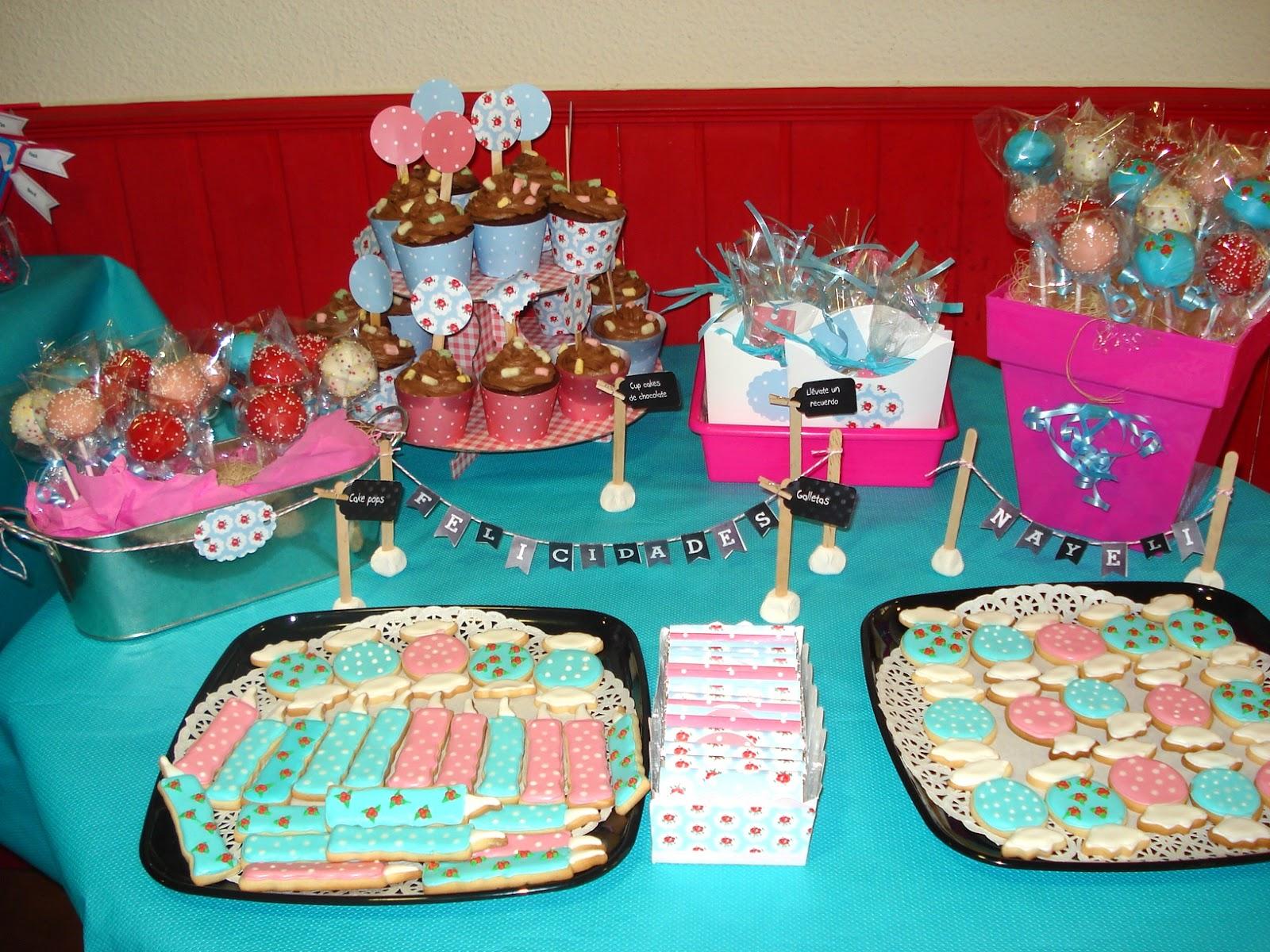 mesa dulce fiesta cumpleaos estilo cath kidston
