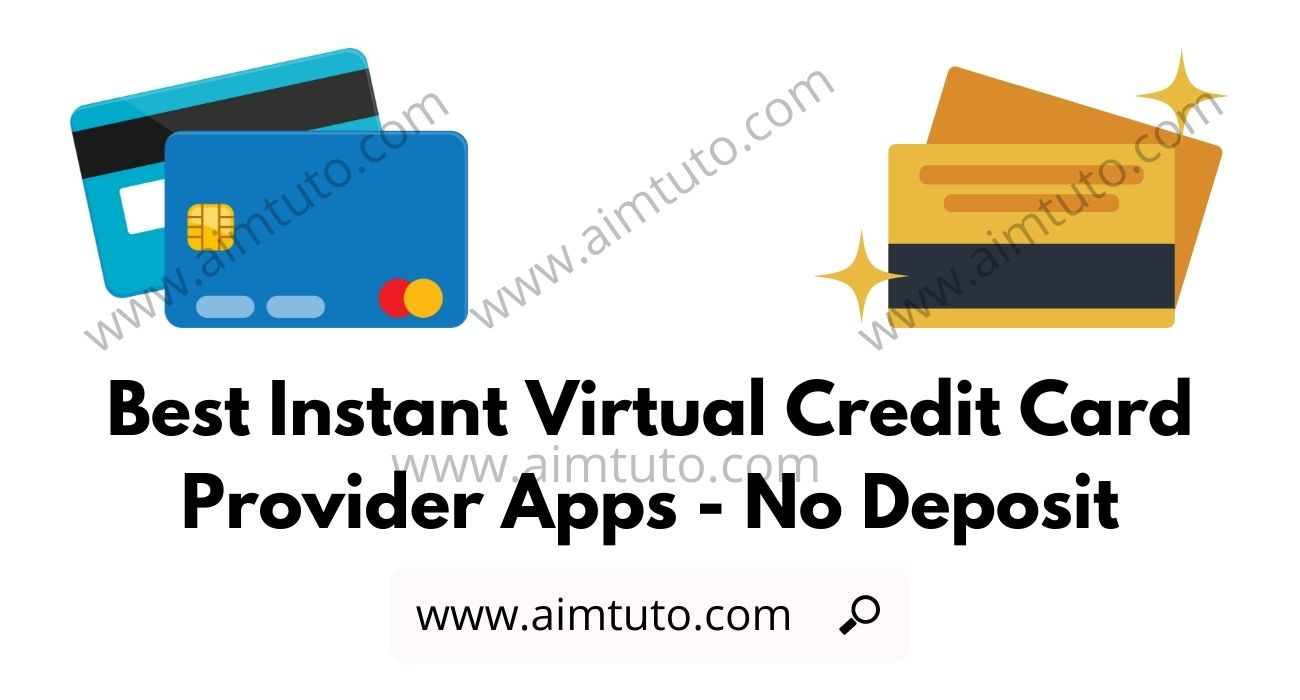 Best Instant Virtual Credit Card Provider Apps