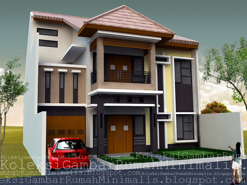 Contoh  Gambar Rumah  Minimalis  newhairstylesformen2014 com