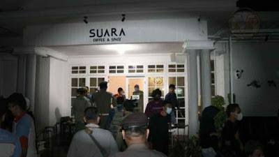 Kafe di Jalan Karsa Medan Barat Disegel, Langgar Prokes dan PPKM Berskala Mikro
