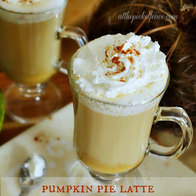 pumpkin, pie, latte, coffee, Thanksgiving