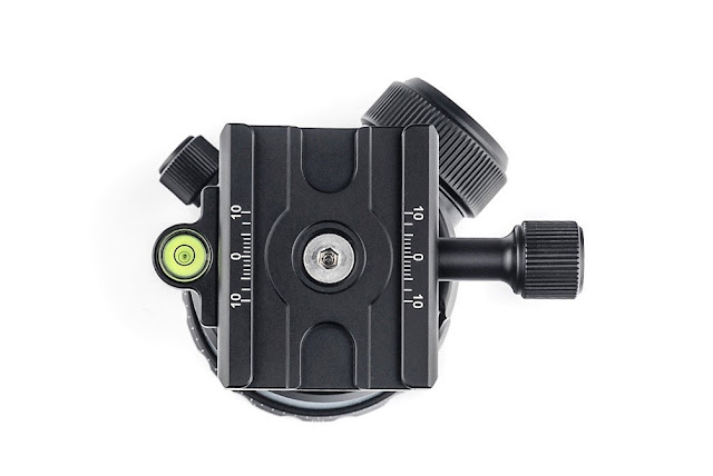 Sunwayfoto FB-52 Ball Head QR clamp